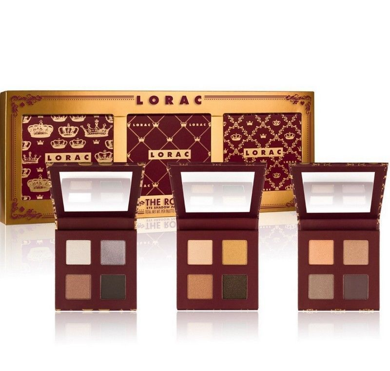 LORAC The Royal Eye Shadow Palette Set of 3 - 0.28 oz Each