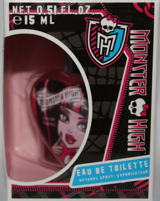Monster High Girl's Eau De Toilette Natural Spray .5 oz *Reduced*