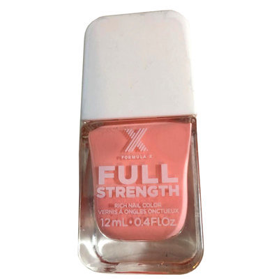 Pink Prowess -Formula X Full Strength Rich Color Treatment Nail Polish 0.4 oz