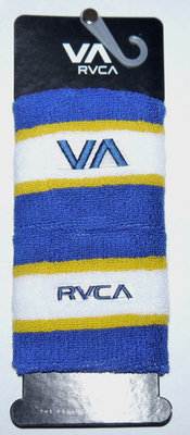 2 Pk RVCA Unisex Blue White and Yellow 3