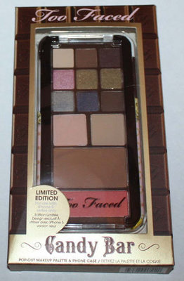 Too Faced Candy Bar Palette For Eyes & Face + Phone Case For iPhone 5 series