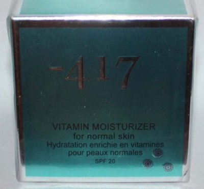 Minus -417 Dead Sea Cosmetics Vitamin Moisturizer For Noraml Skin 1.7 oz