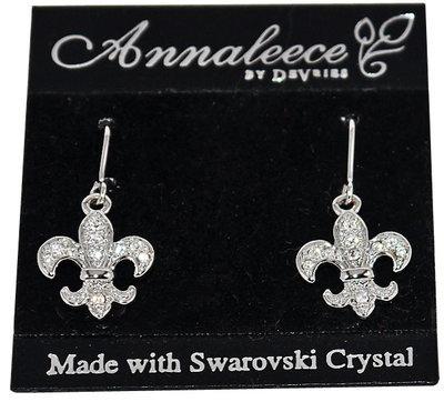 Annaleece By Devries ROYAL FLEUR DE LIS Earrings