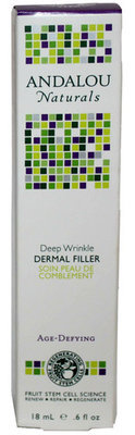 Andalou Naturals Deep Wrinkle Dermal Filler For Face .6 oz