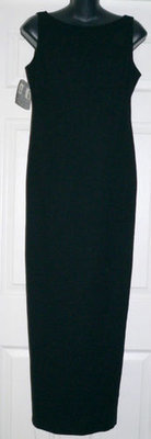 LAUNDRY By Shelli Segal Women's Black Formal Dress (Size 8)
