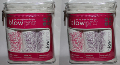 Lot Of 2 BLOW PRO JET SET STYLE ON THE GO 3 Piece Hair Care *Reduced*