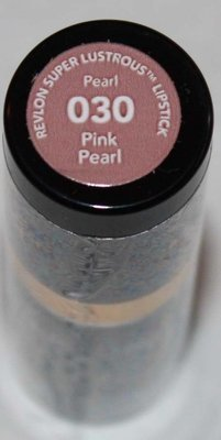 Revlon Super Lustrous Pearl Lipstick .15 oz  -Pink Pearl #030