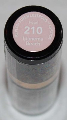Revlon Super Lustrous Pearl Lipstick .15 oz  -Ipanema beach #210