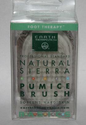 Earth Therapeutics Foot Therapy Natural Sierra Pumice Brush