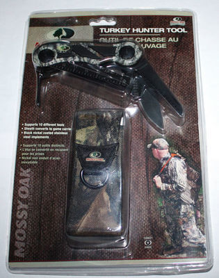MOSSY OAK Hunting Accessories Mossy Oak Break-Up Turkey Hunter Tool MO-TT-BU