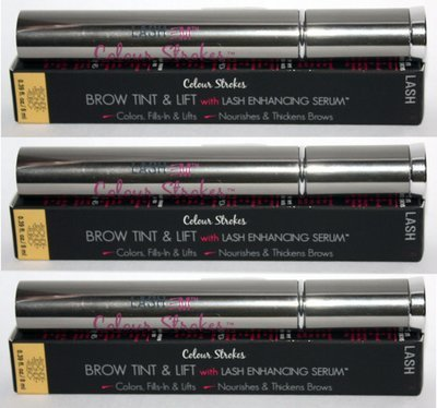 3 LashEm Color Strokes Brow Tint and Lift With Lash Enhancing Serum BLONDE .39 oz