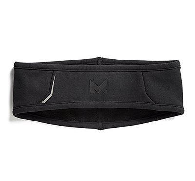 Mission RadiantActive Outdoor Training and Running Black Performance Headband