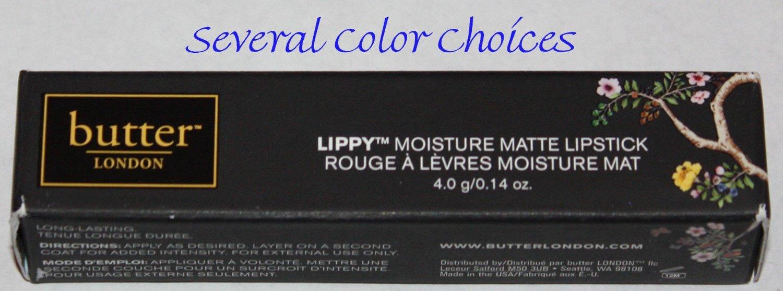 Butter London LIPPY Moisture Matte Lipstick .14 oz -Several Shades
