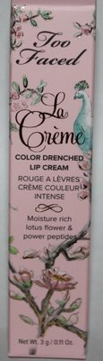 Too Faced La Creme Color Drenched Lipstick - MEAN GIRLS 0.11 oz