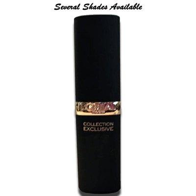 L'Oreal Paris Colour Riche Collection Exclusive Lipstick 0.13 oz  (Several Shades)