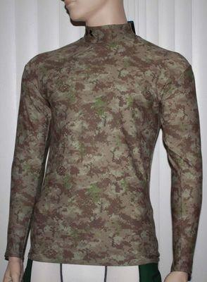 Under Armour Men's Coldgear Moisture Transport Abstract Print Shirt