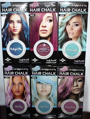 SPLAT Hair Chalk 0.12 oz (Several Colors)
