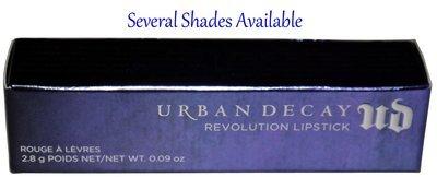 Urban Decay Revolution Lipstick 0.09 oz (Several Shades)