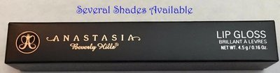 Anastasia Beverly Hills Limited Edition Lip Gloss 0.16 oz -Several Shades