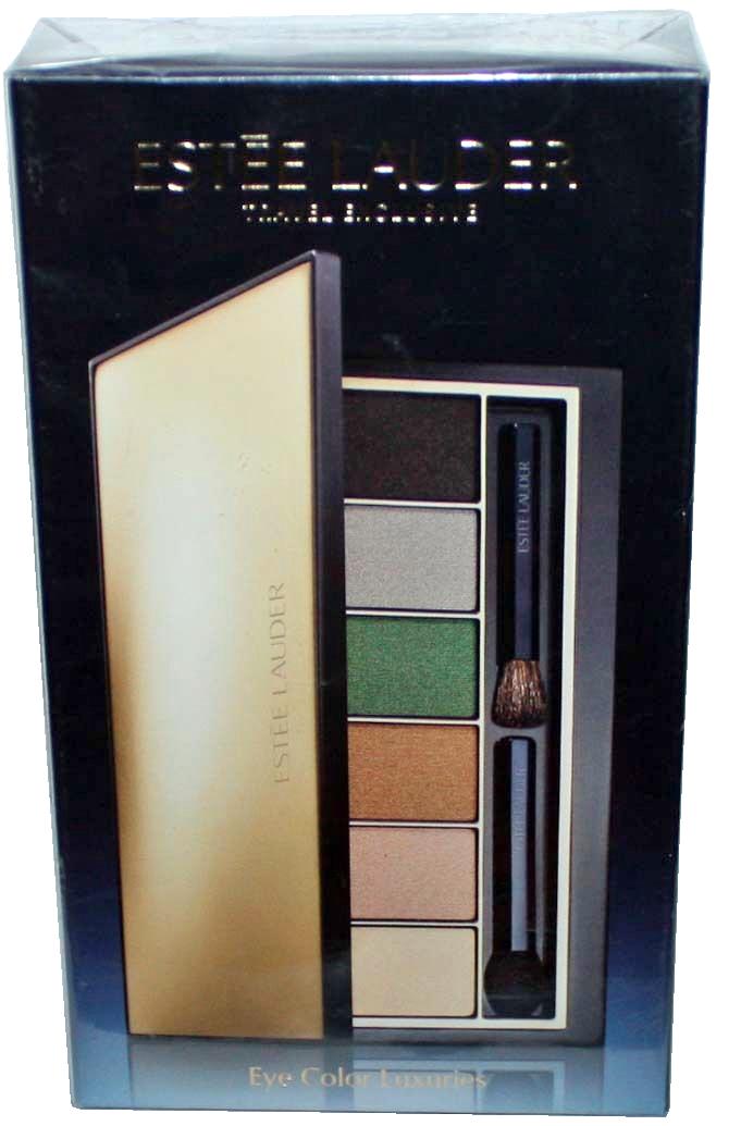 Estee Lauder 6 Eye Color Luxuries Pure Color Eyeshadow Palette 6 x .05 oz