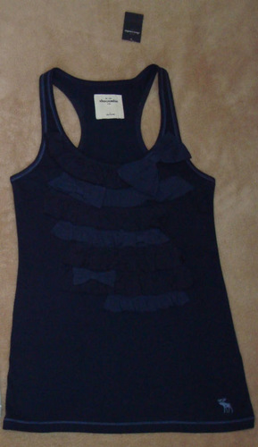 Abercrombie Kids Girl's Ruffled Bow Tank Top (Large) *Reduced*