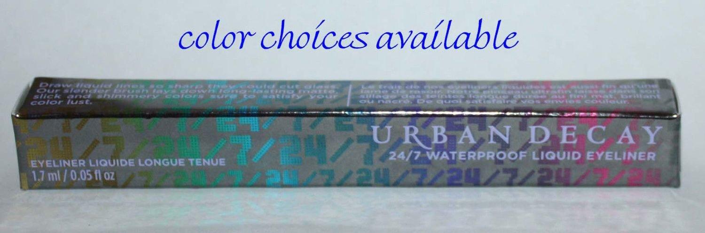 Urban Decay 24/7 Waterproof Liquid Eyeliner 0.05 oz (Several Shades)