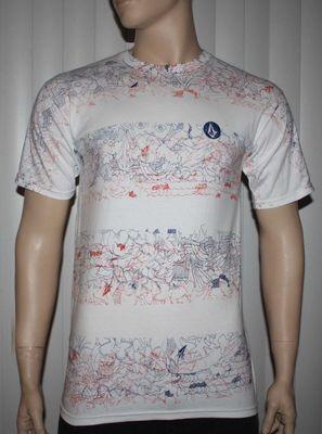 Volcom RAD DAZZLE SS TEE White Graphic T-Shirt -X-Large