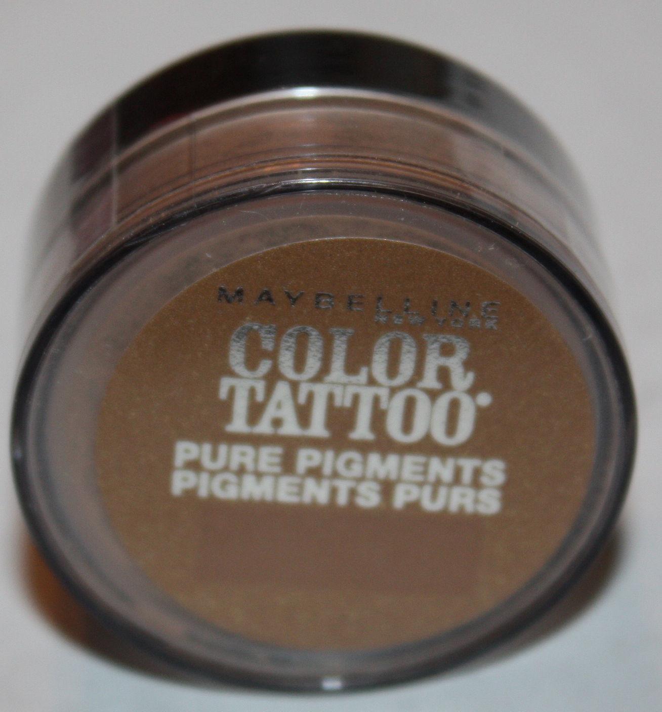 Maybelline Color Tattoo Pure Pigments Eyeshadow -#60 Buff & Tuff