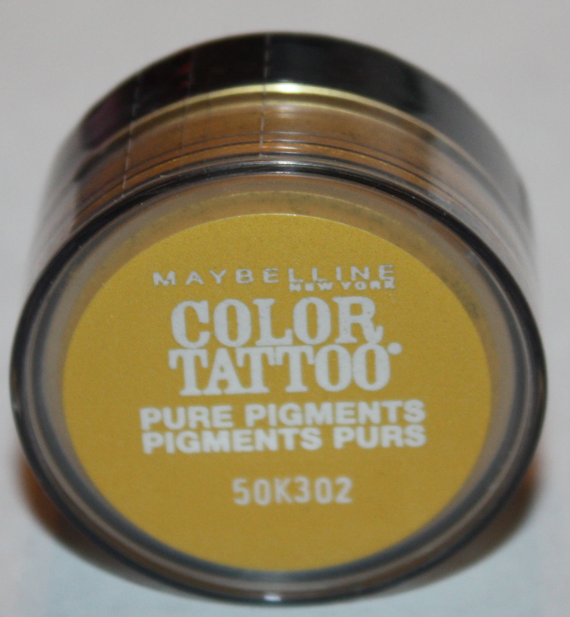 Maybelline Color Tattoo Pure Pigments Eyeshadow -#25 Wild Gold