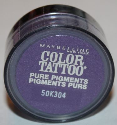 Maybelline Color Tattoo Pure Pigments Eyeshadow -#15 Potent Purple