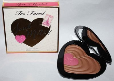 Too Faced SOUL MATES Ross & Rachel Blushing Bronzer Duo 0.6 oz (Medium/Deep)