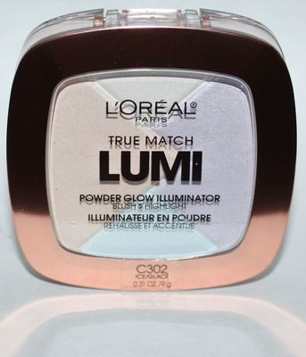 L'Oreal True Match LUMI Powder Glow Illuminator Blush/Highlight C302 Ice