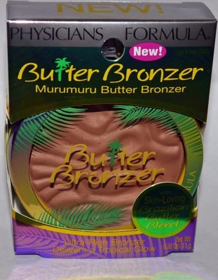 Physicians Formula Murumuru Butter Bronzer #6675 Light Bronzer 0.38 oz