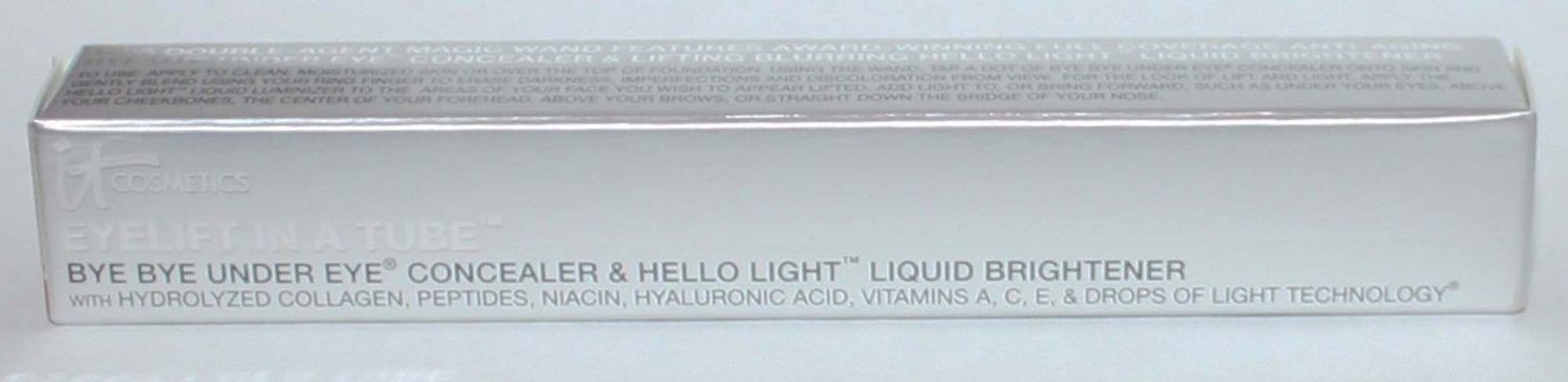 It Cosmetics Eyelift In A Tube Bye Bye Concealer/Hello Light Tan 0.19 oz