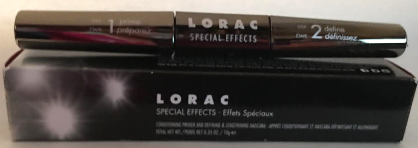 Lorac Special Effects Defining & Lengthening Mascara & Conditioner Primer .35 oz