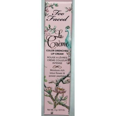 Too Faced La Creme Color Drenched Lipstick Cream - Stiletto Red 0.11 oz