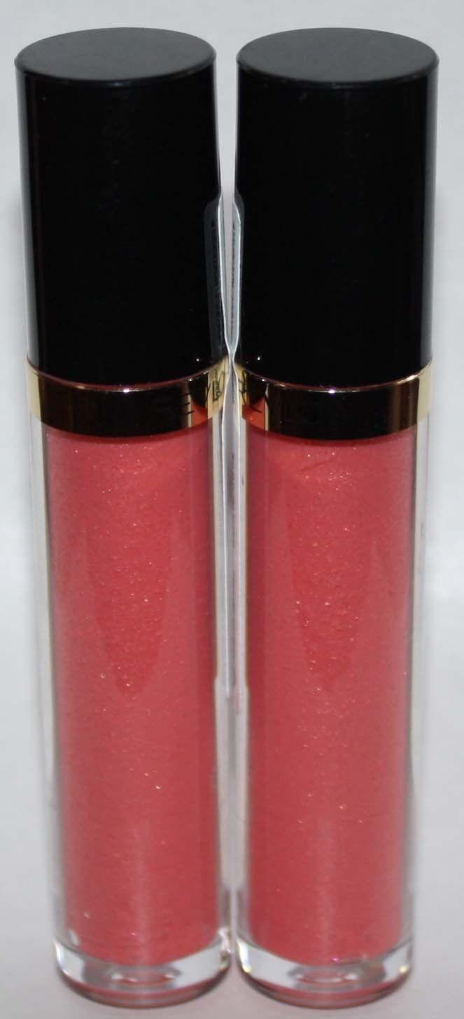 Lot of 2 Revlon Super Lustrous Lip Gloss  #245 Pango Peach 0.13 oz Each