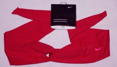 Nike Studio Unisex Twist Dark Pink Punch/Bright Pink Swoosh Head Tie (One Size)