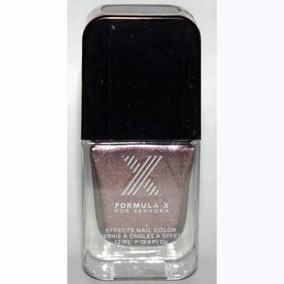 Heroic Nail Color -FORMULA X For Sephora Effects Nail Color Polish Lacquer .4 oz