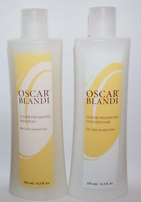 OSCAR BLANDI Color Preserving Shampoo & Conditioner 8.3 oz each