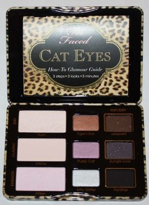 Too Faced Cat Eyes Purrrfection Eye Shadow/Liner/Brush/Shadow Primer Kit
