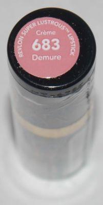 Revlon Super Lustrous CREME Lipstick .15 oz  -Demure  #683