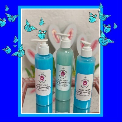 organic Aloe Infused hand sanitizer NOTE: Select
