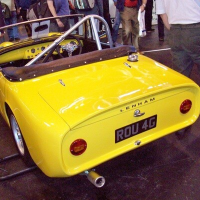 Austin-Healey Sprite / MG Midget Track Day Roll Bar