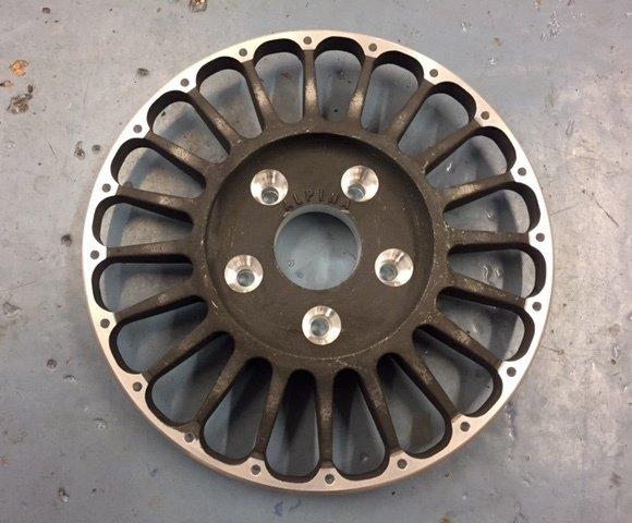 BMW 3.0CSL Alpina Magnesium Wheel Centre - 20 spoke, 5 x 120mm PCD