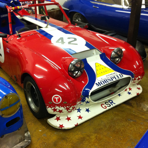 GSR Racing Frogeye Bonnet / Front