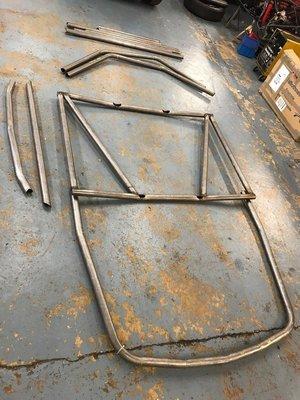 Jensen CV8 weld in 6 point roll cage FIA/MSA