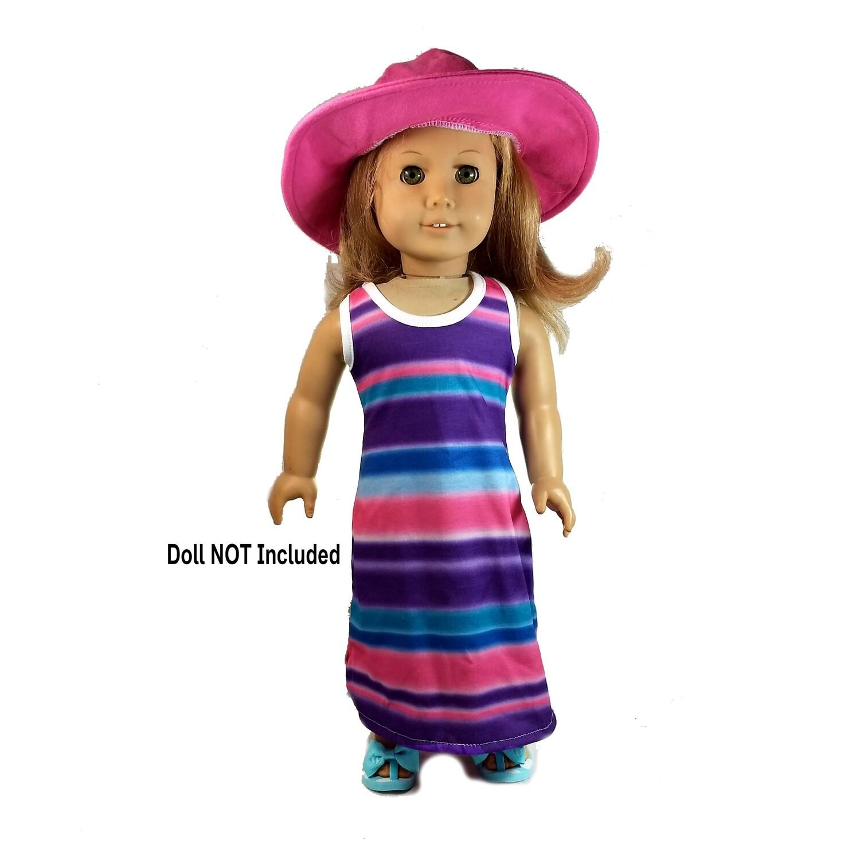 Maxi Dress & Hat