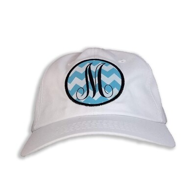 White Monogram Cap  - Limited Letters