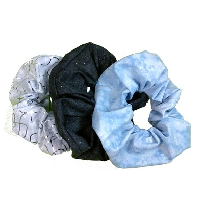 Scrunchies (set of 3)